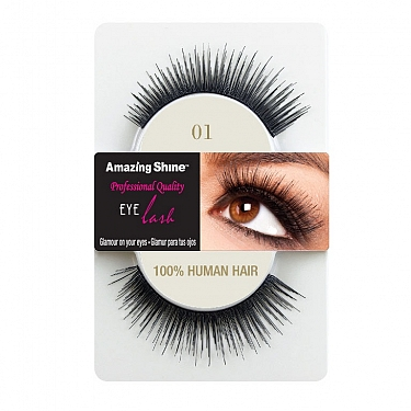 EYE LASH BLACK MODELO 01 REF : 651 AMAZING SHINE