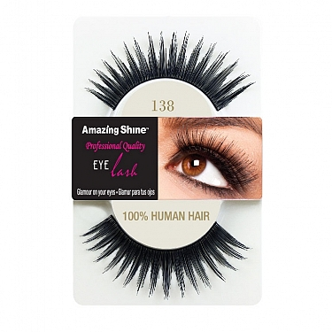 EYE LASH BLACK MODELO 138 REF : 674 AMAZING SHINE