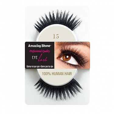 EYE LASH BLACK MODELO 15 REF : 653 AMAZING SHINE