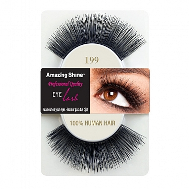 EYE LASH BLACK MODELO 199 REF : 675 AMAZING SHINE