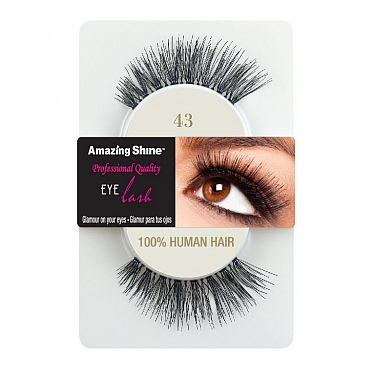 EYE LASH BLACK MODELO 43 REF : 672 AMAZING SHINE