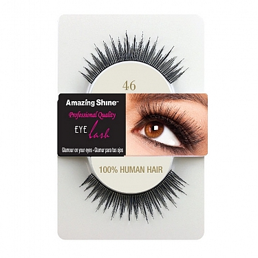 EYE LASH BLACK MODELO 46 REF : 656 AMAZING SHINE