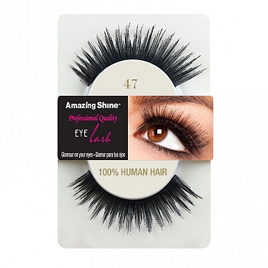 EYE LASH BLACK MODELO 47 REF : 657 AMAZING SHINE