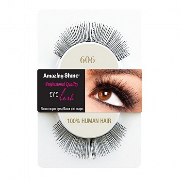 EYE LASH BLACK MODELO 606 REF : 661 AMAZING SHINE