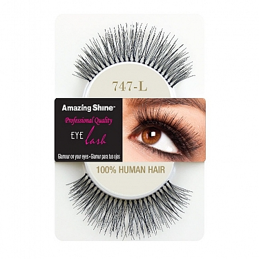 EYE LASH BLACK MODELO 747L REF : 665 AMAZING SHINE