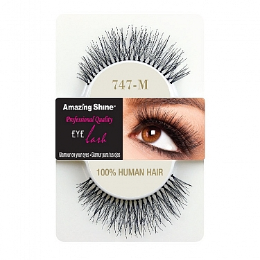 EYE LASH BLACK MODELO 747M REF : 664 AMAZING SHINE