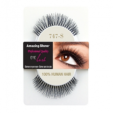 EYE LASH BLACK MODELO 747S REF : 663 AMAZING SHINE