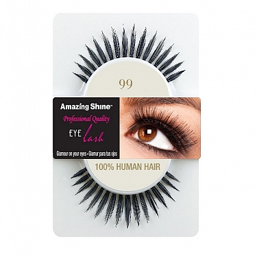 EYE LASH BLACK MODELO 99 REF : 658 AMAZING SHINE