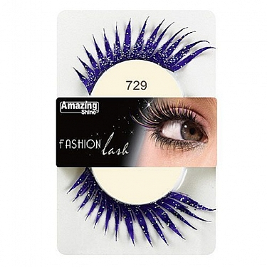FASHION LASH (MORADO CON PURPURINA) REF : 729 AMAZING SHINE