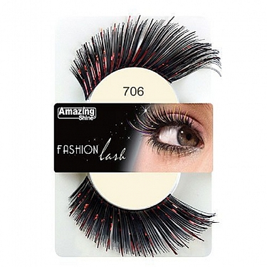 FASHION LASH (NEGRO/ ROJO BRILLANTE) REF : 706 AMAZING SHINE