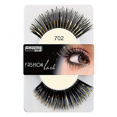FASHION LASH (NEGRO/DORADO) REF : 702 AMAZING SHINE