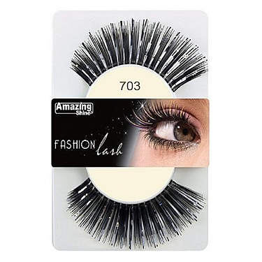 FASHION LASH (NEGRO/PLATA) REF : 703 AMAZING SHINE