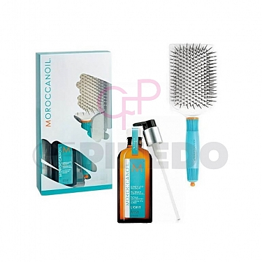 KIT TRATAMIENTO MOROCCANOIL LIGHT 100 ML. + PALETA DE REGALO (Edición Limitada)