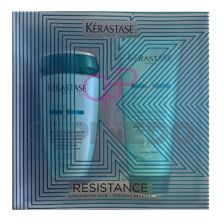 KERASTASE RESISTANCE PACK BAIN FORCE + CIMENT ANTI-USURE_1