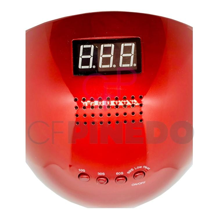 LAMPARA LED ASN-A7 METALLIC RED_1