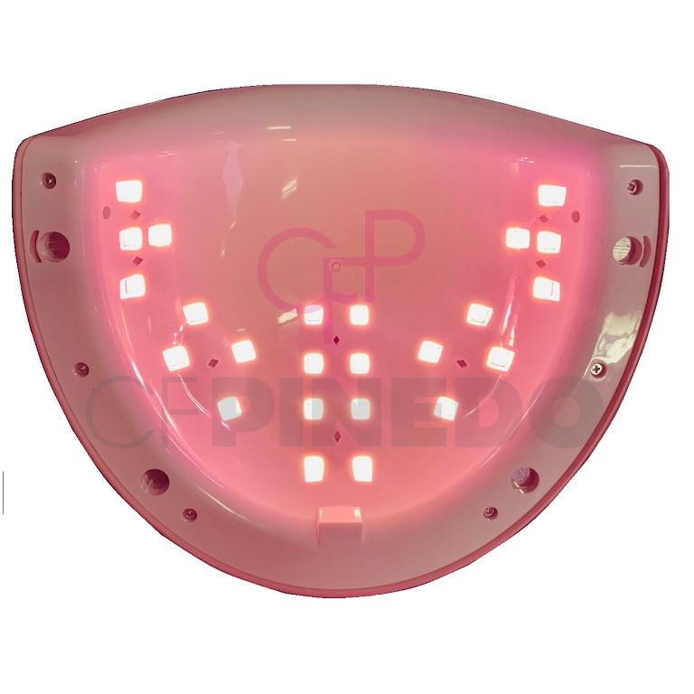 LAMPARA LED ASN-A7 METALLIC RED_2