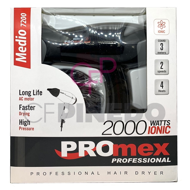 SECADOR PROMEX COMPACT 2000 WATTS IONIC BLACK REF.211257_1