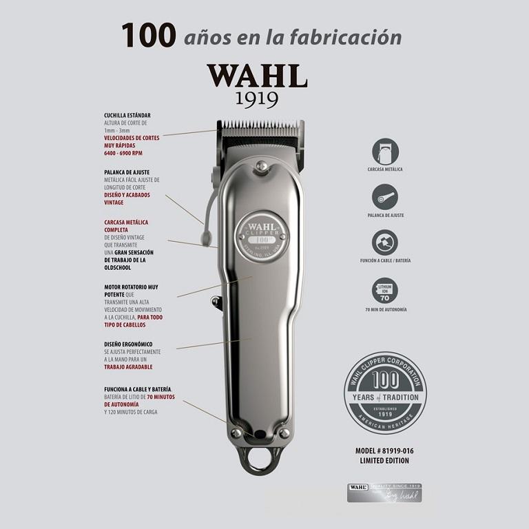 CORTADORA WAHL